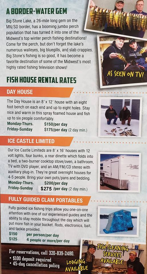 fish house rates 18 19